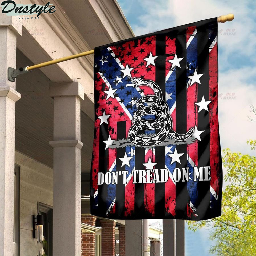Confederate we don't treat on me flag