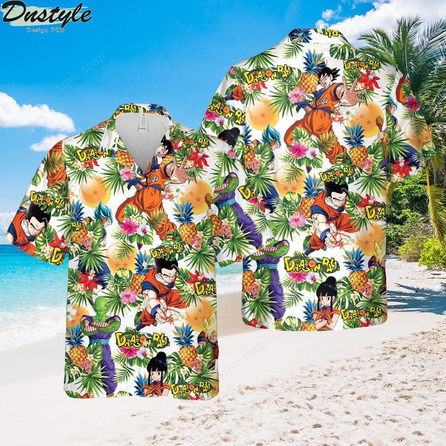 Dragon Ball Aloha Summer Beach Hawaiian shirt