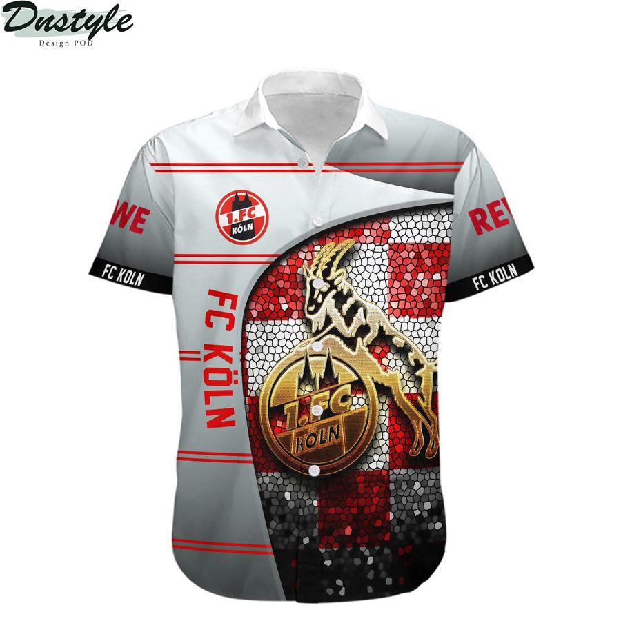 FC Köln Die Geißböcke hawaiian shirt 1