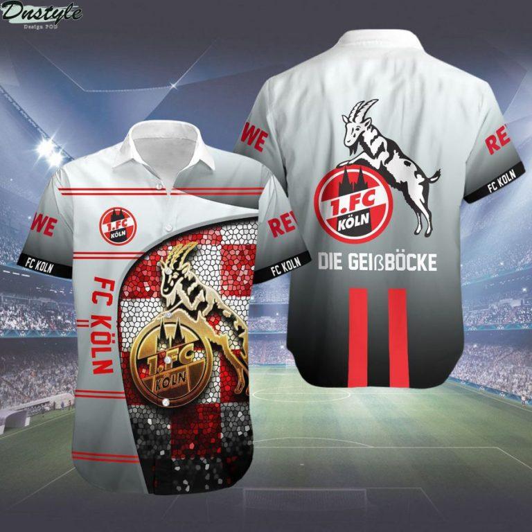 FC Köln Die Geißböcke hawaiian shirt