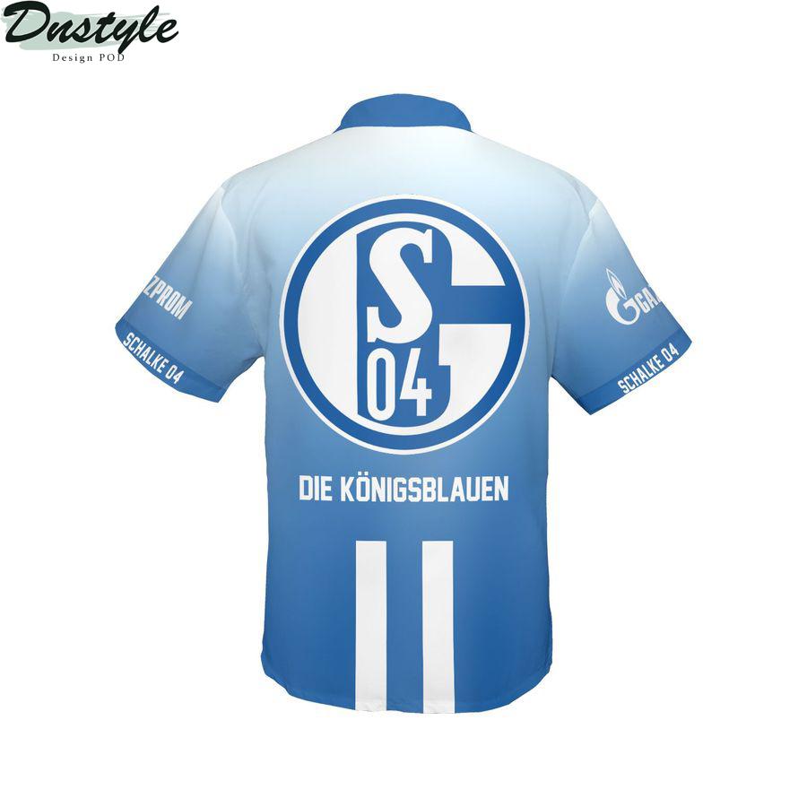 FC Schalke 04 Die Königsblauen hawaiian shirt 2