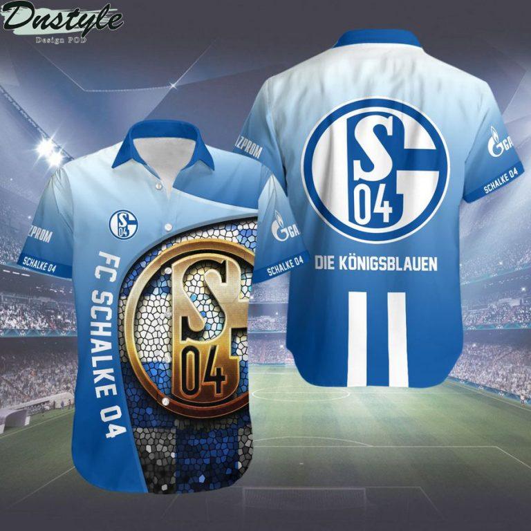 FC Schalke 04 Die Königsblauen hawaiian shirt