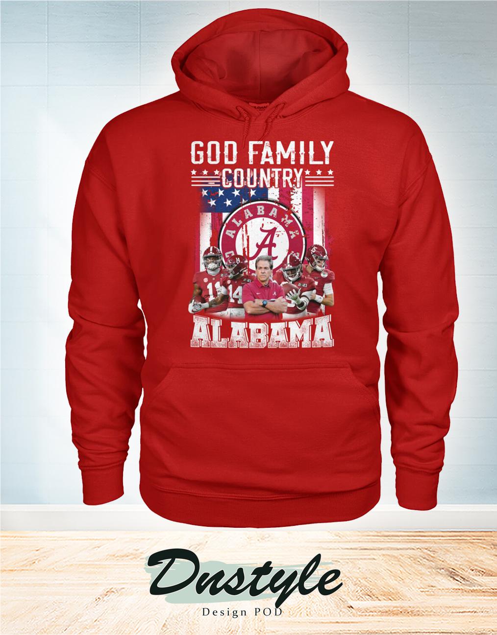 God family country Alabama hoodie