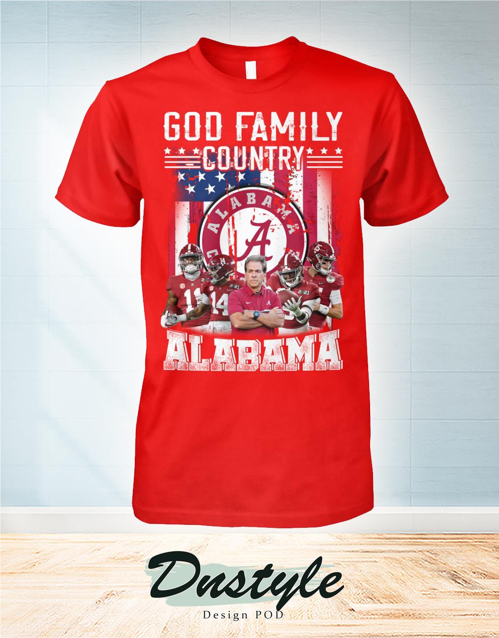 God family country Alabama shirt