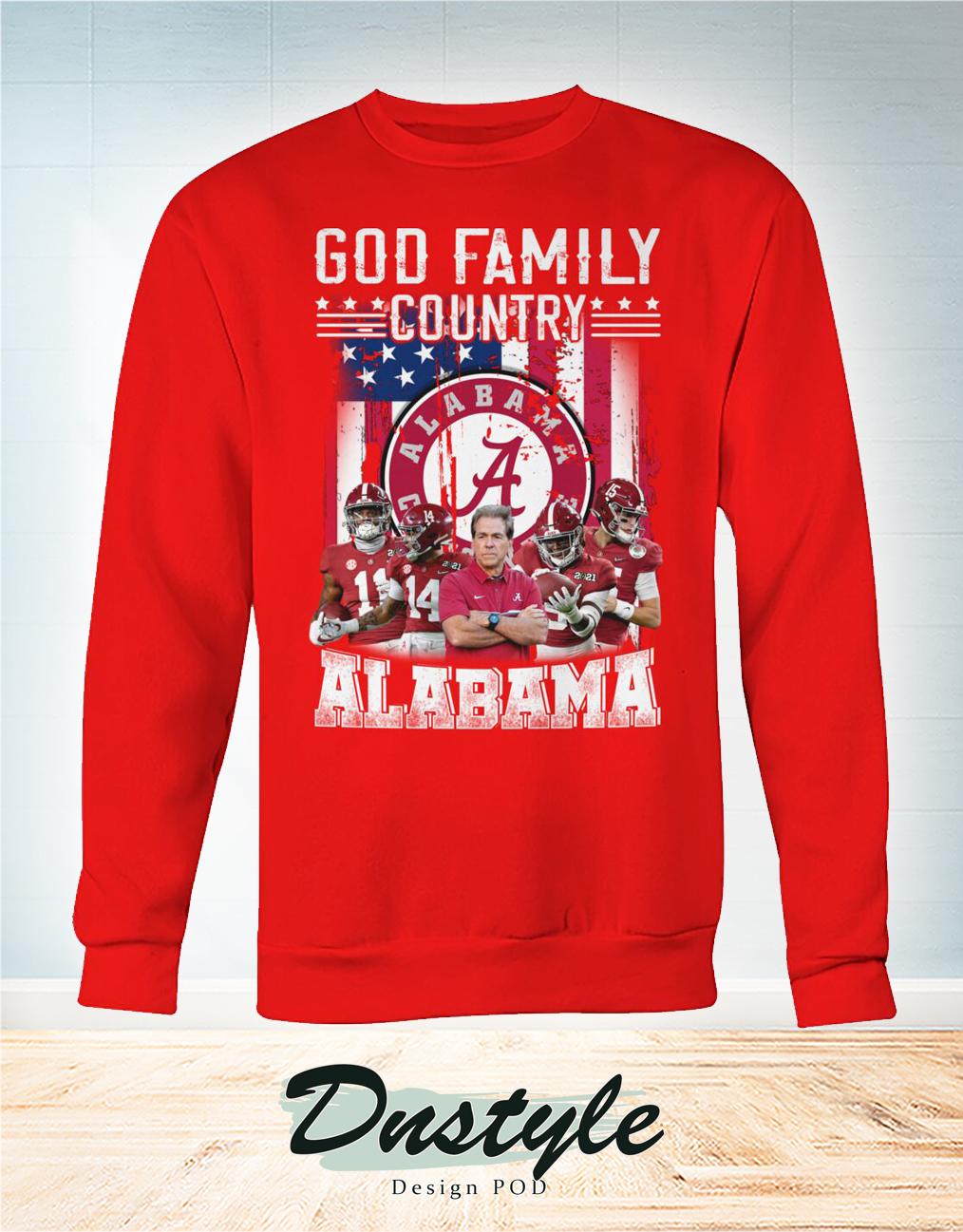 God family country Alabama sweatshirt