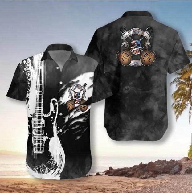 Guitar Live Free Hawaiian Shirt