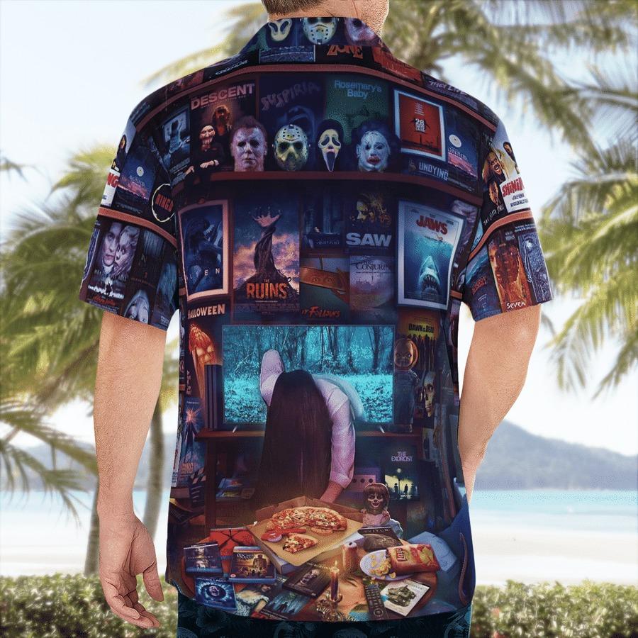 Halloween horror movies hawaiian shirt 2