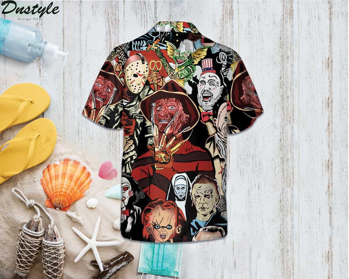 Horror Squad Tropical Hawaiian Shirt 1