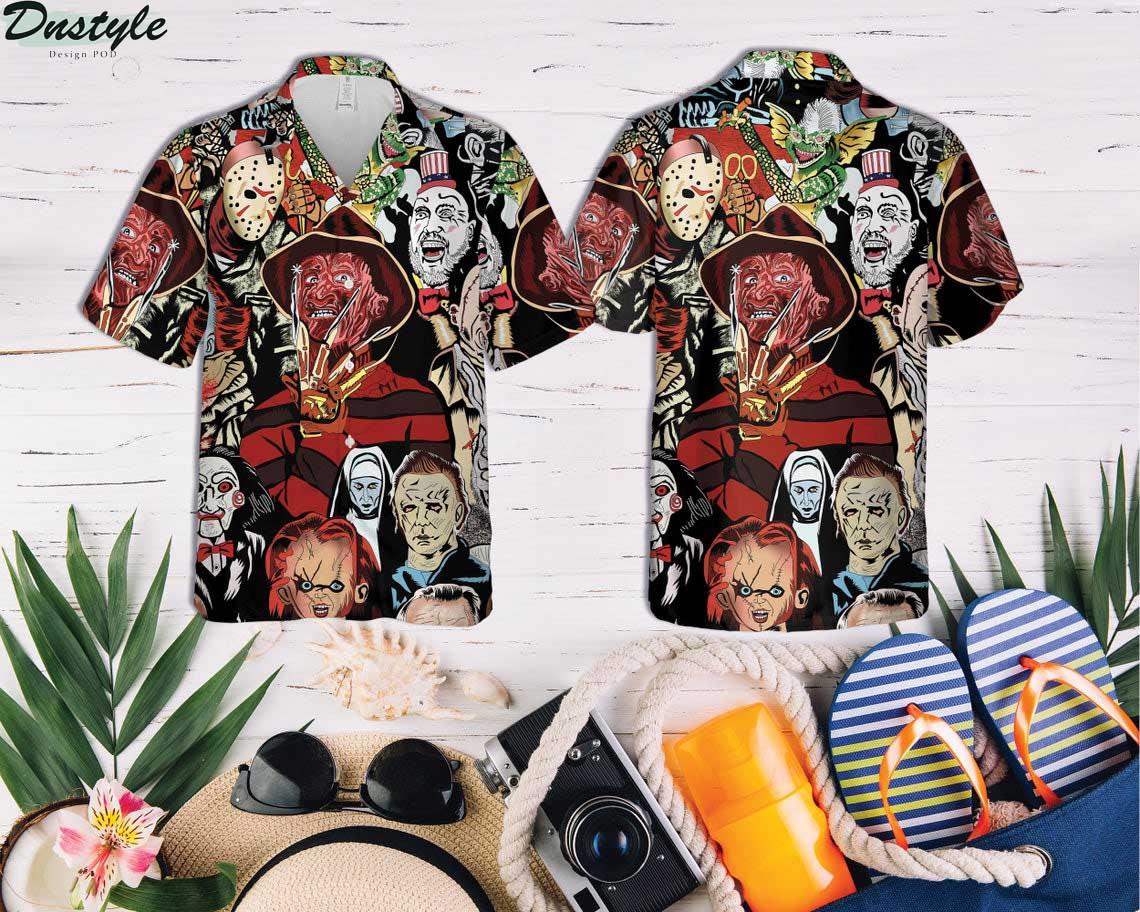 Horror Squad Tropical Hawaiian Shirt 2