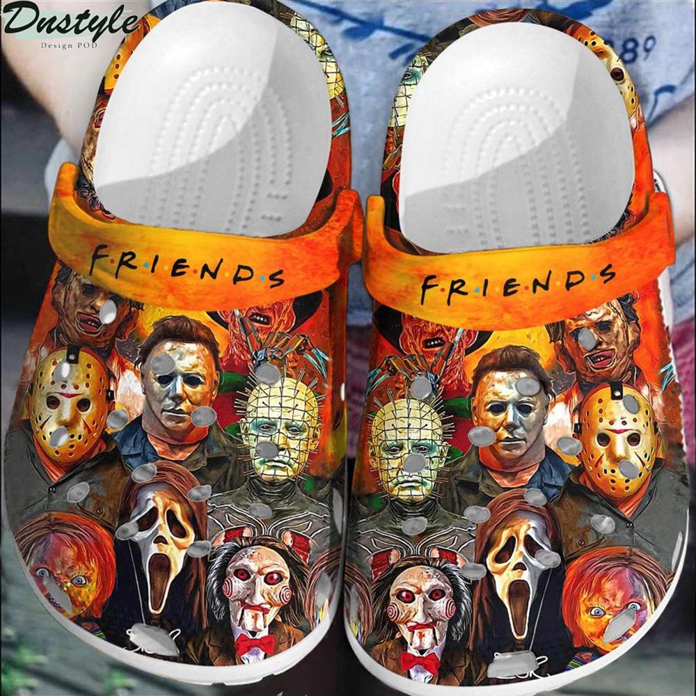 Horror movies halloween crocs crocband shoes