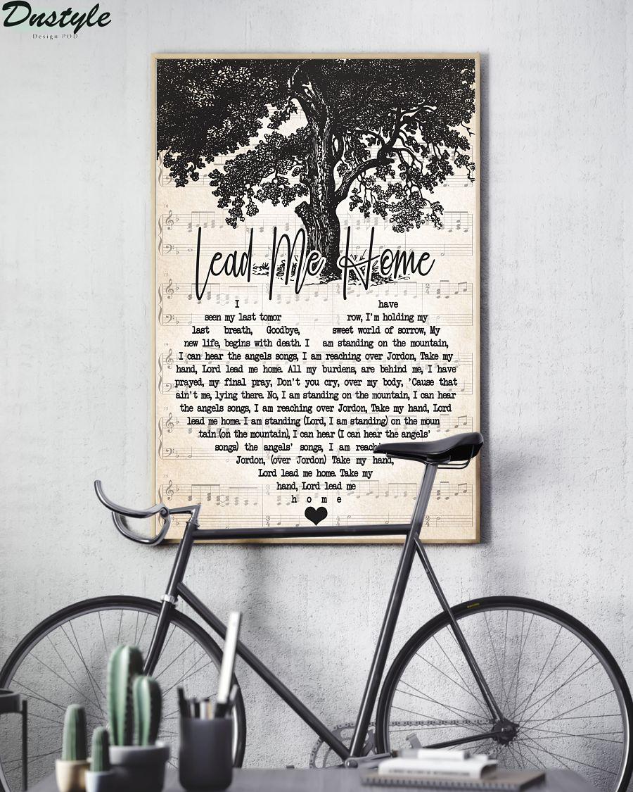 Jamey Johnson Lead Me Home Lyric Poster 1