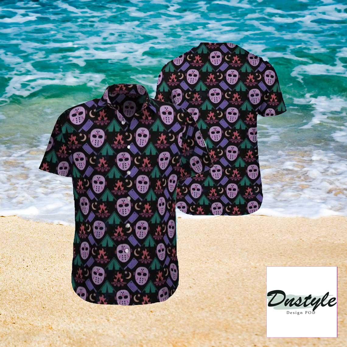 Jason Voorhees Mask Hawaiian shirt