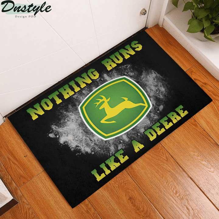 John Deere nothing runs like a deere doormat 2