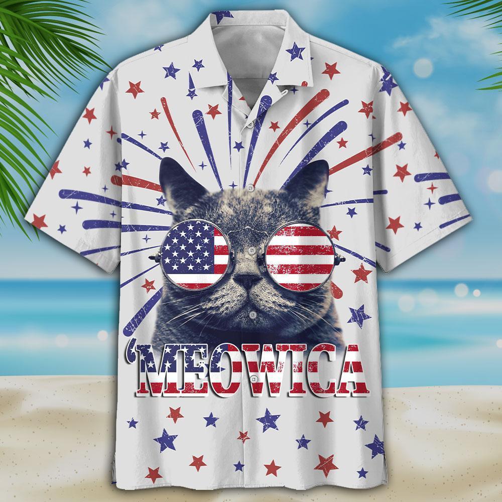 Kool Cat 'Meowica Hawaiian Shirt 1