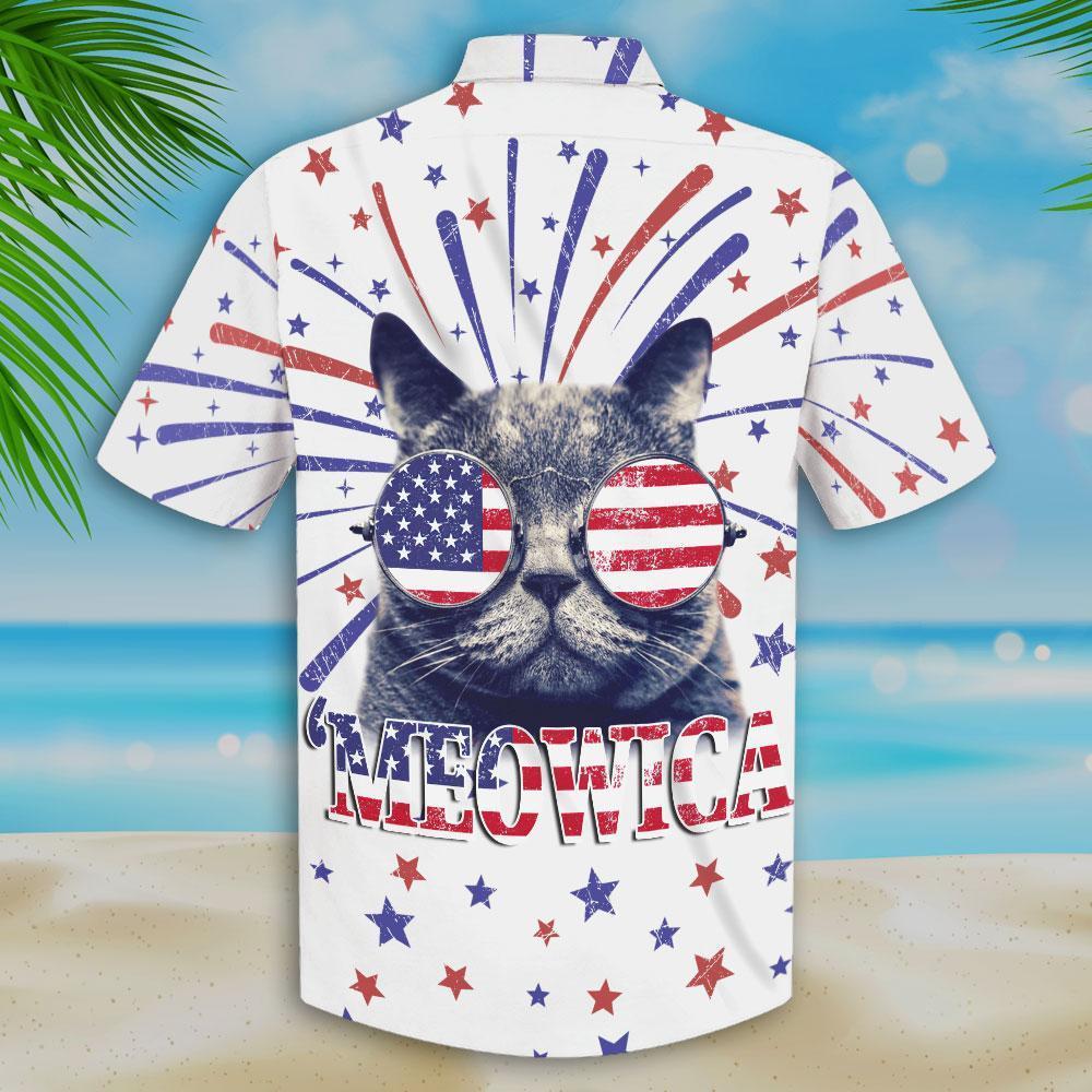 Kool Cat 'Meowica Hawaiian Shirt 2