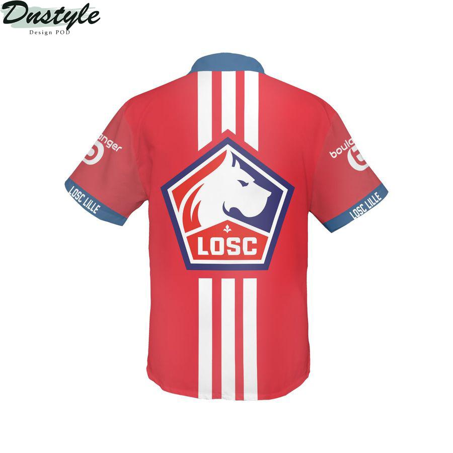 Losc Lille hawaiian shirt 2