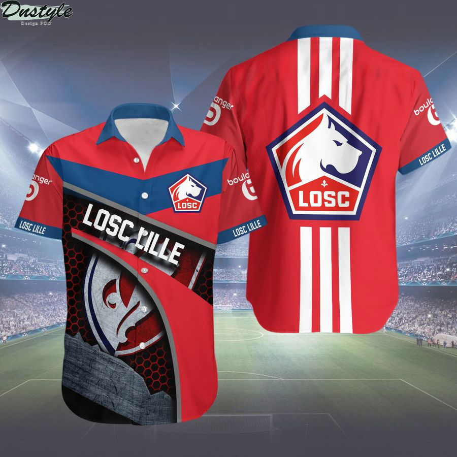 Losc Lille hawaiian shirt