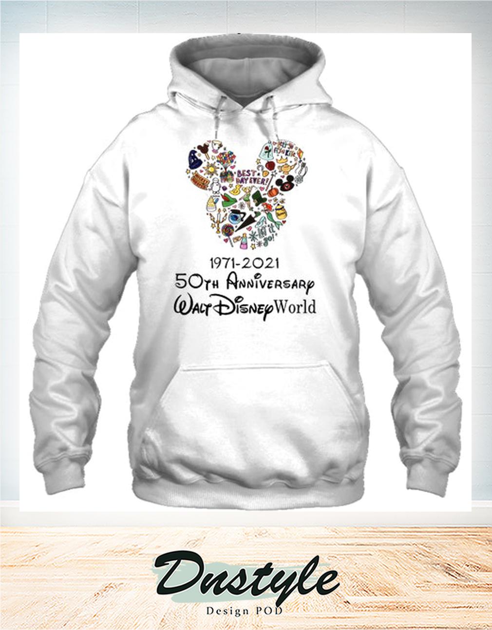 Mickey 50th anniversary walt disney world hoodie
