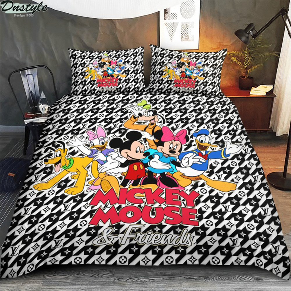 Mickey mouse and friends 3d bedding set