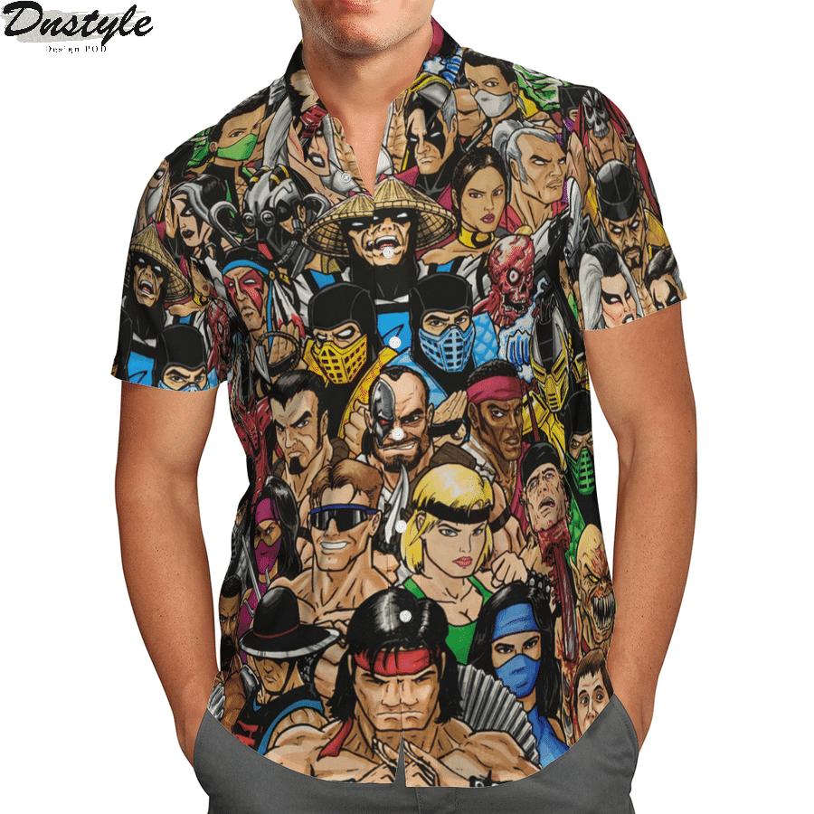 Mortal kombat hawaiian shirt 1
