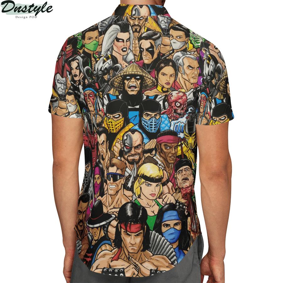 Mortal kombat hawaiian shirt 2