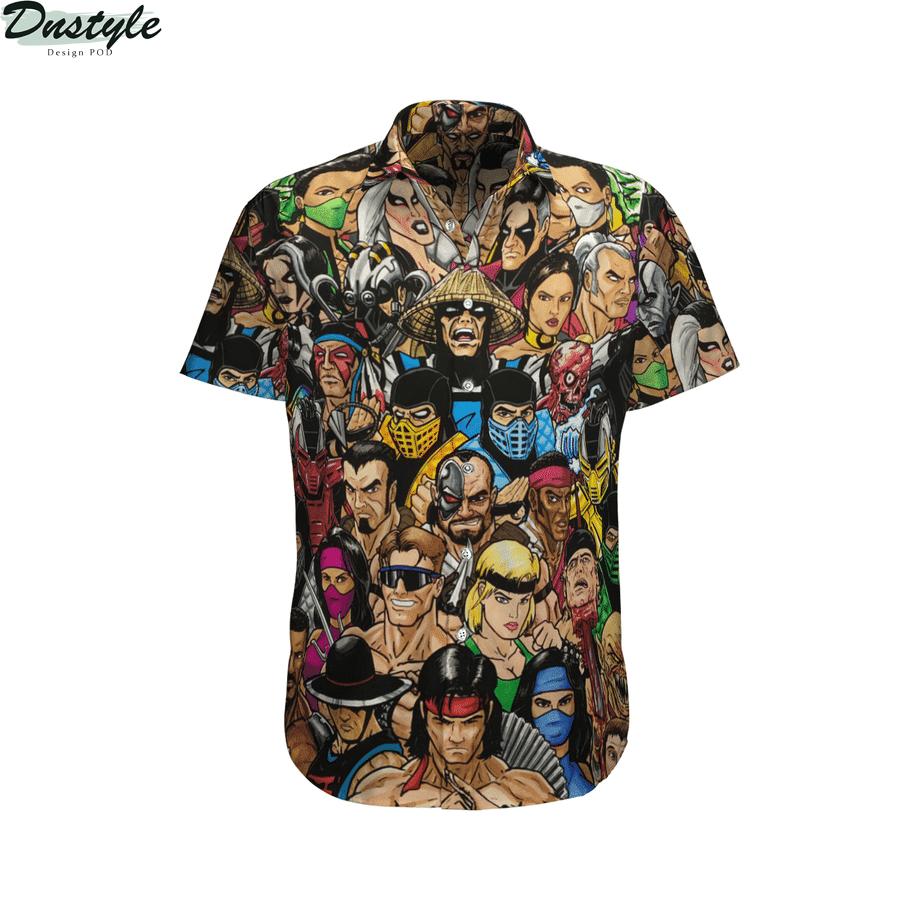 Mortal kombat hawaiian shirt