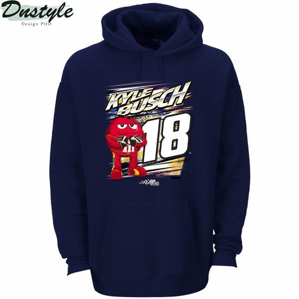 Nascar Kyle Busch 18 M&m's hoodie
