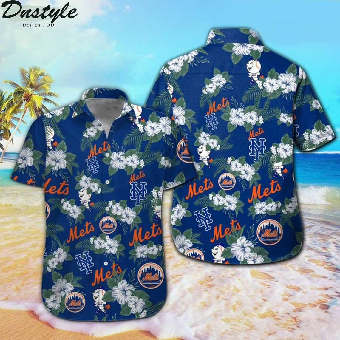 New York Mets MLB Hawaii Shirt