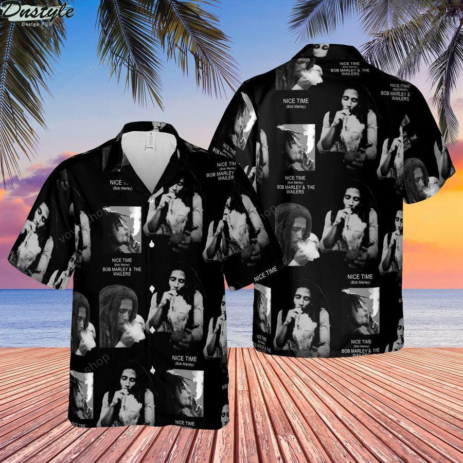 Nice time Bob Marley and The Wailer Hawaiian Shirt