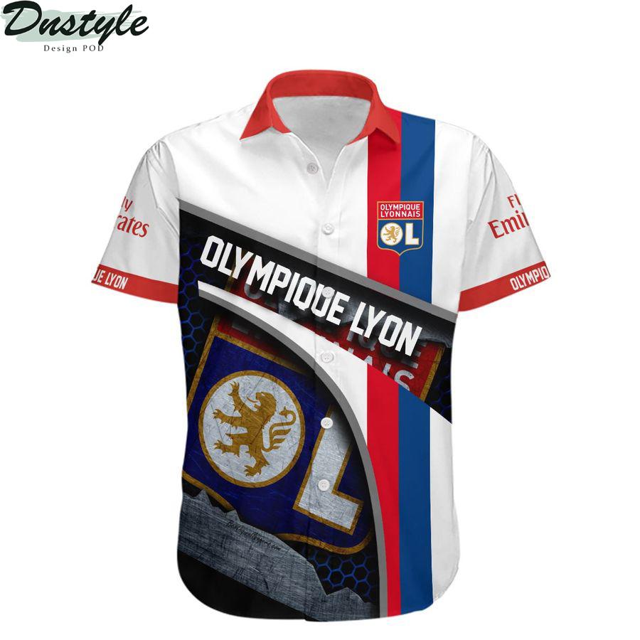 Olympique Lyonnais hawaiian shirt 1