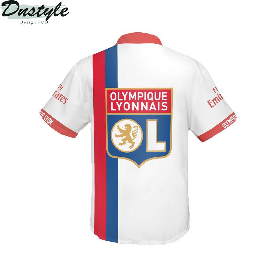Olympique Lyonnais hawaiian shirt 2