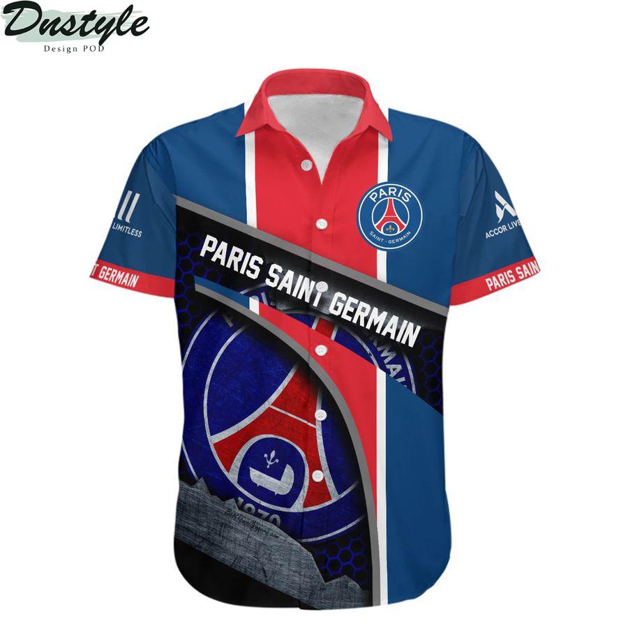 Paris Saint-Germain hawaiian shirt 1