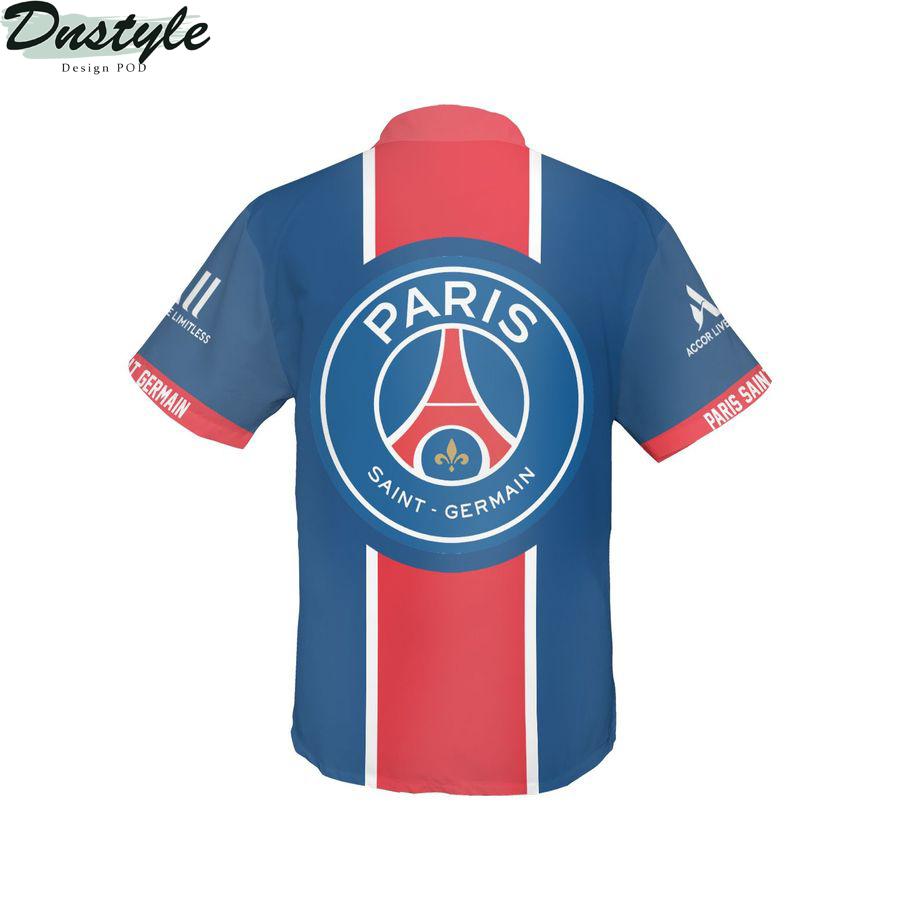 Paris Saint-Germain hawaiian shirt 2
