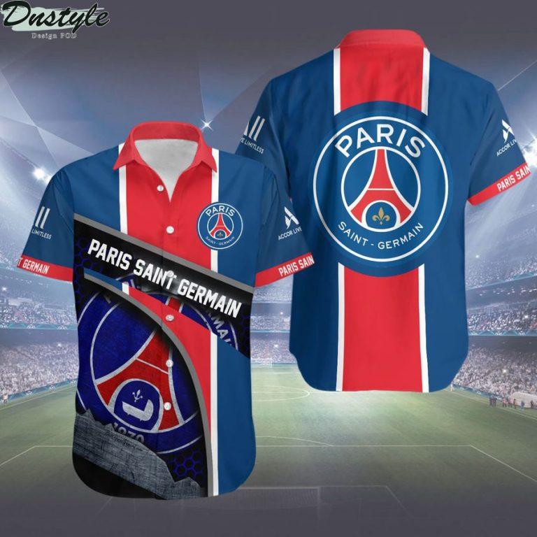 Paris Saint-Germain hawaiian shirt