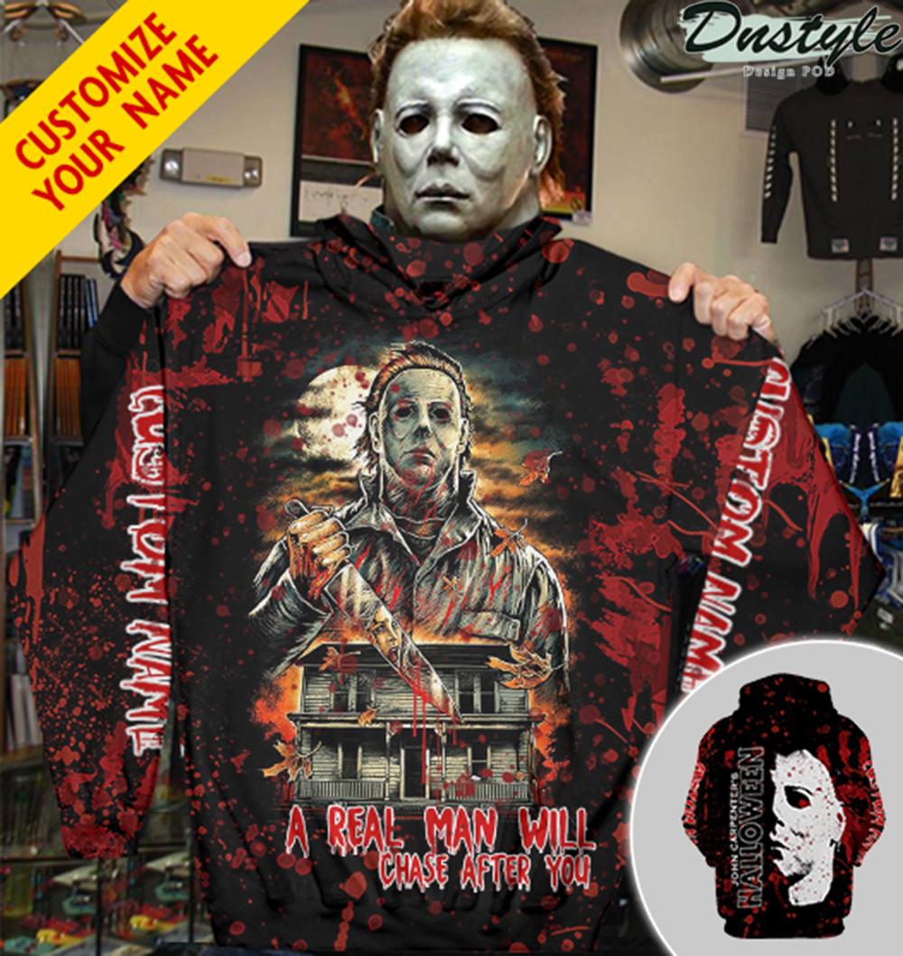 Personalized custom name Michael Myers John Carpenter halloween 3d hoodie