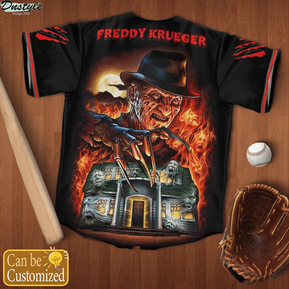Personalized name freddy krueger stay woke baseball jersey 2