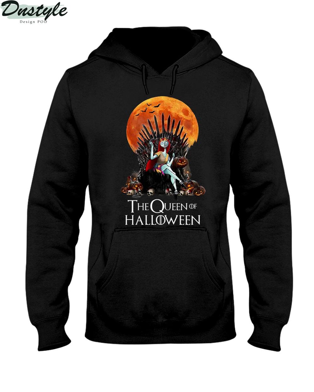 Sally the queen of halloween hoodie