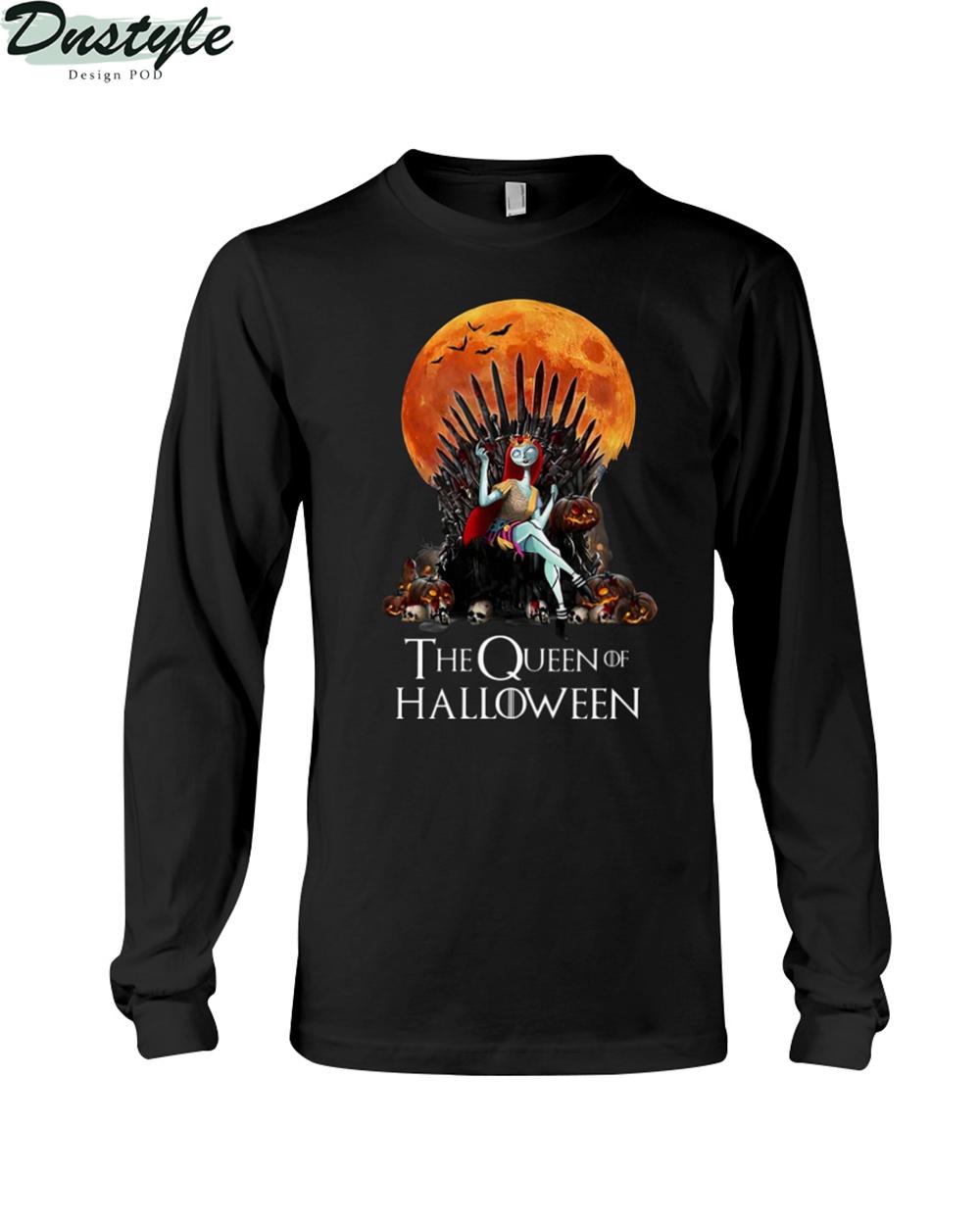 Sally the queen of halloween long sleeve