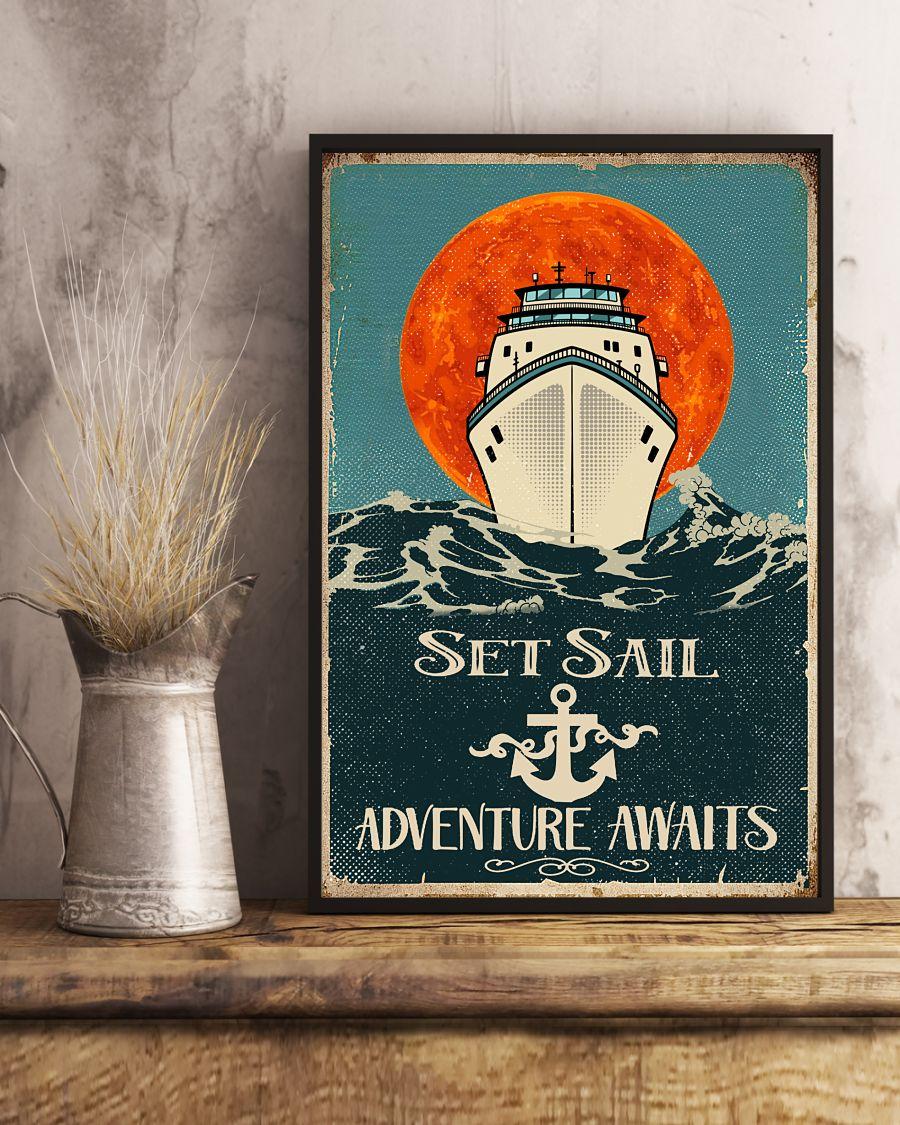 Set sail adventure awaits poster 1