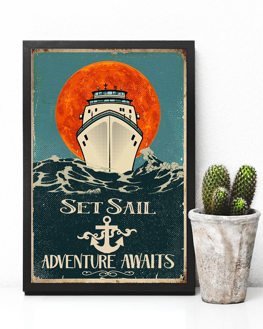 Set sail adventure awaits poster 2