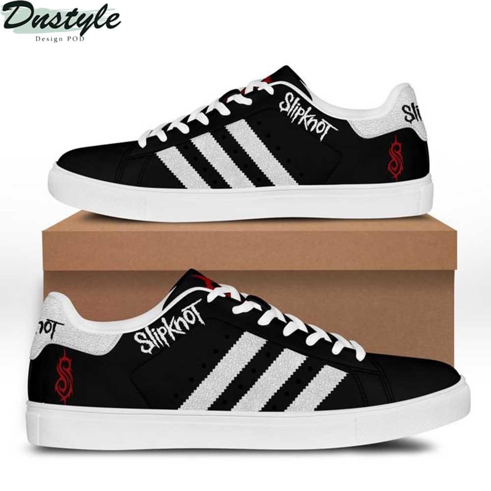 Slipknot stan smith shoes black
