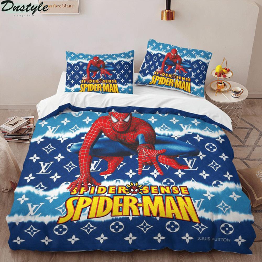 Spider man spider sense 3d bedding set 1