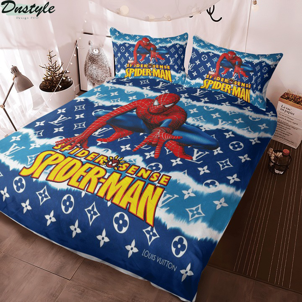 Spider man spider sense 3d bedding set 2