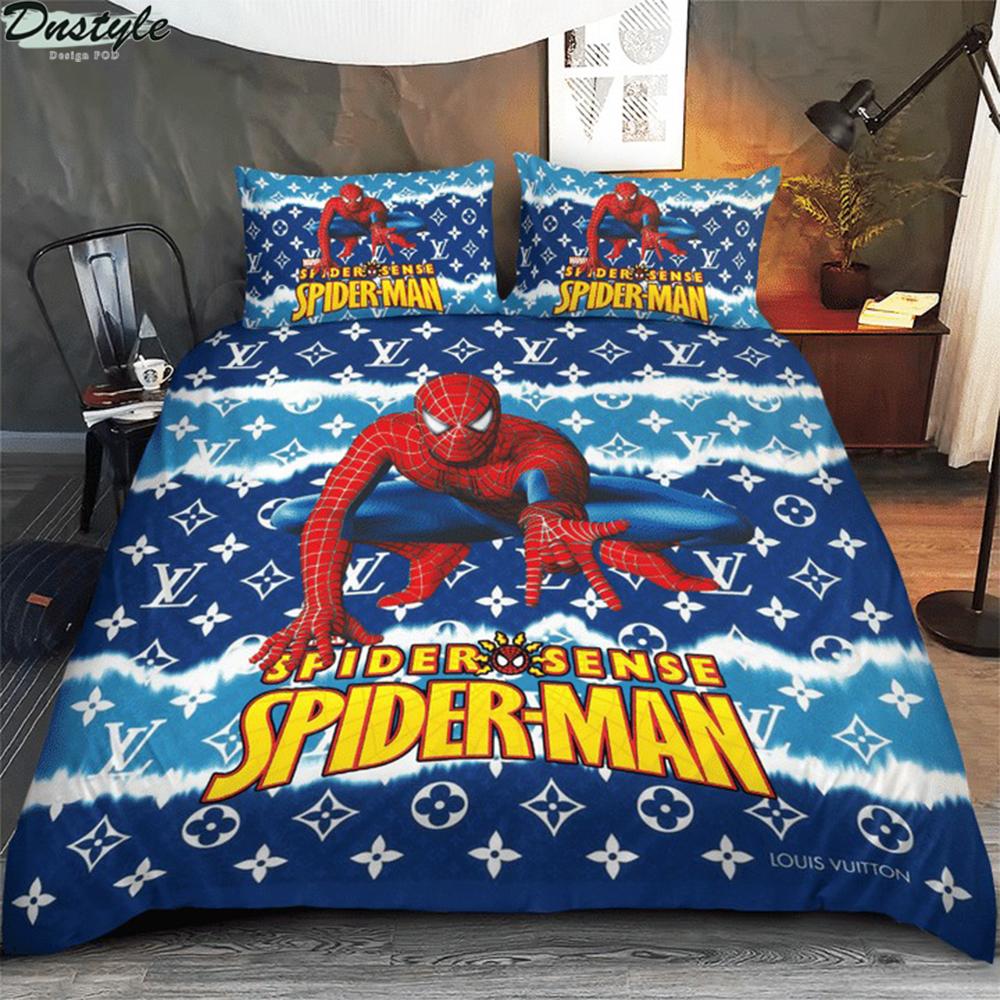 Spider man spider sense 3d bedding set