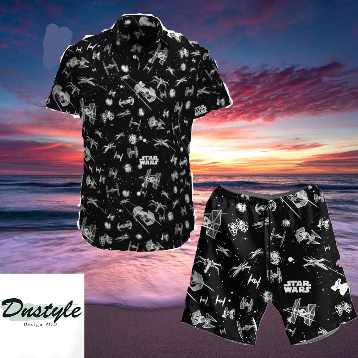 Star Wars Hawaiian Shirt and Short