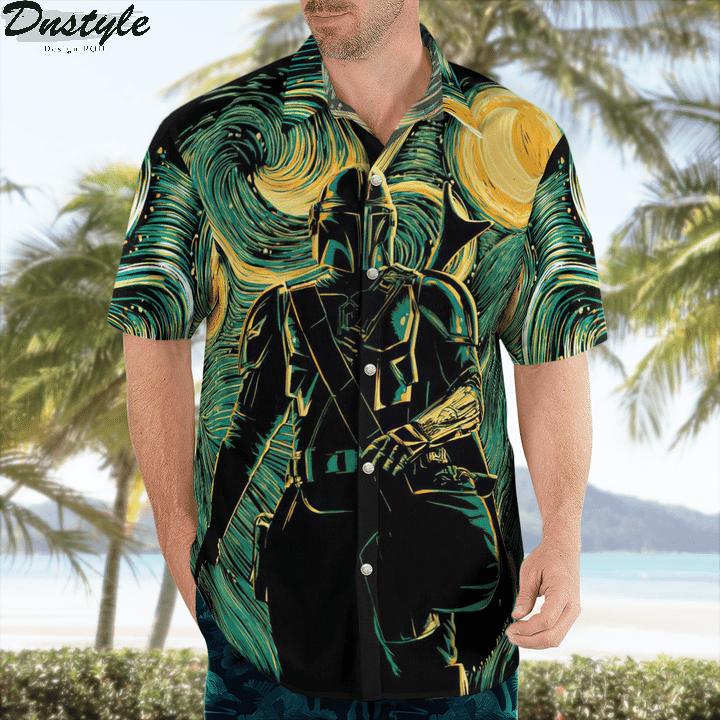 Star wars darth vader baby yoda hawaiian shirt 2