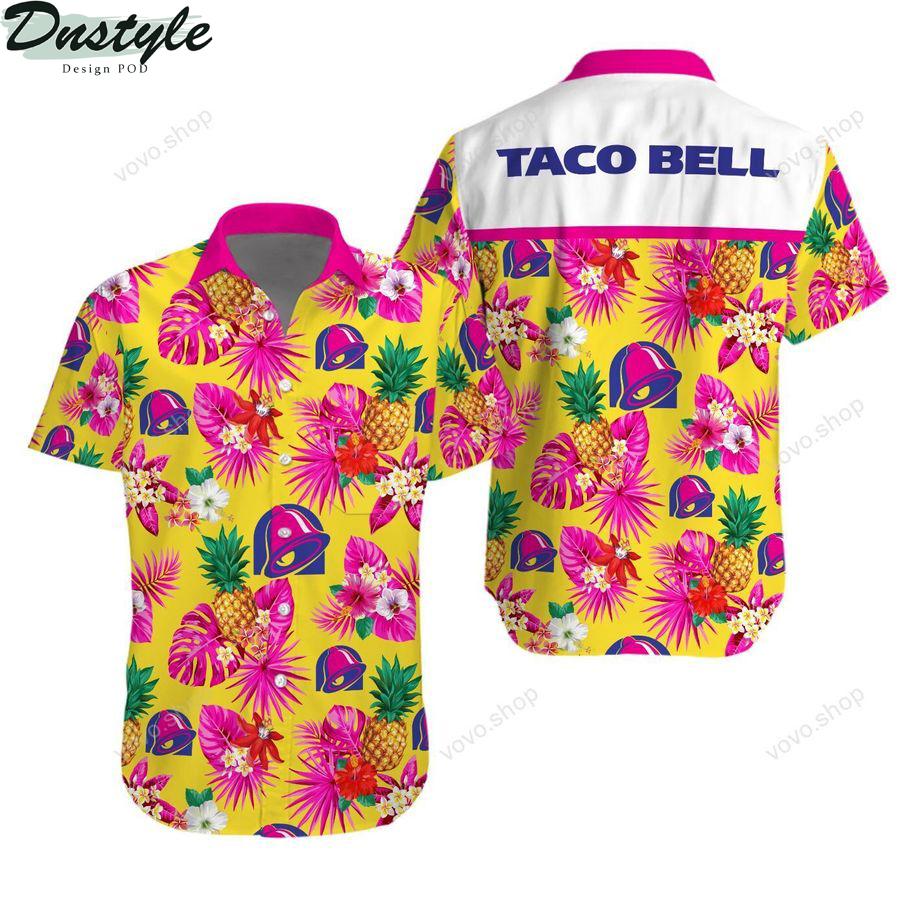 Taco bell tropical hawaiian shirt