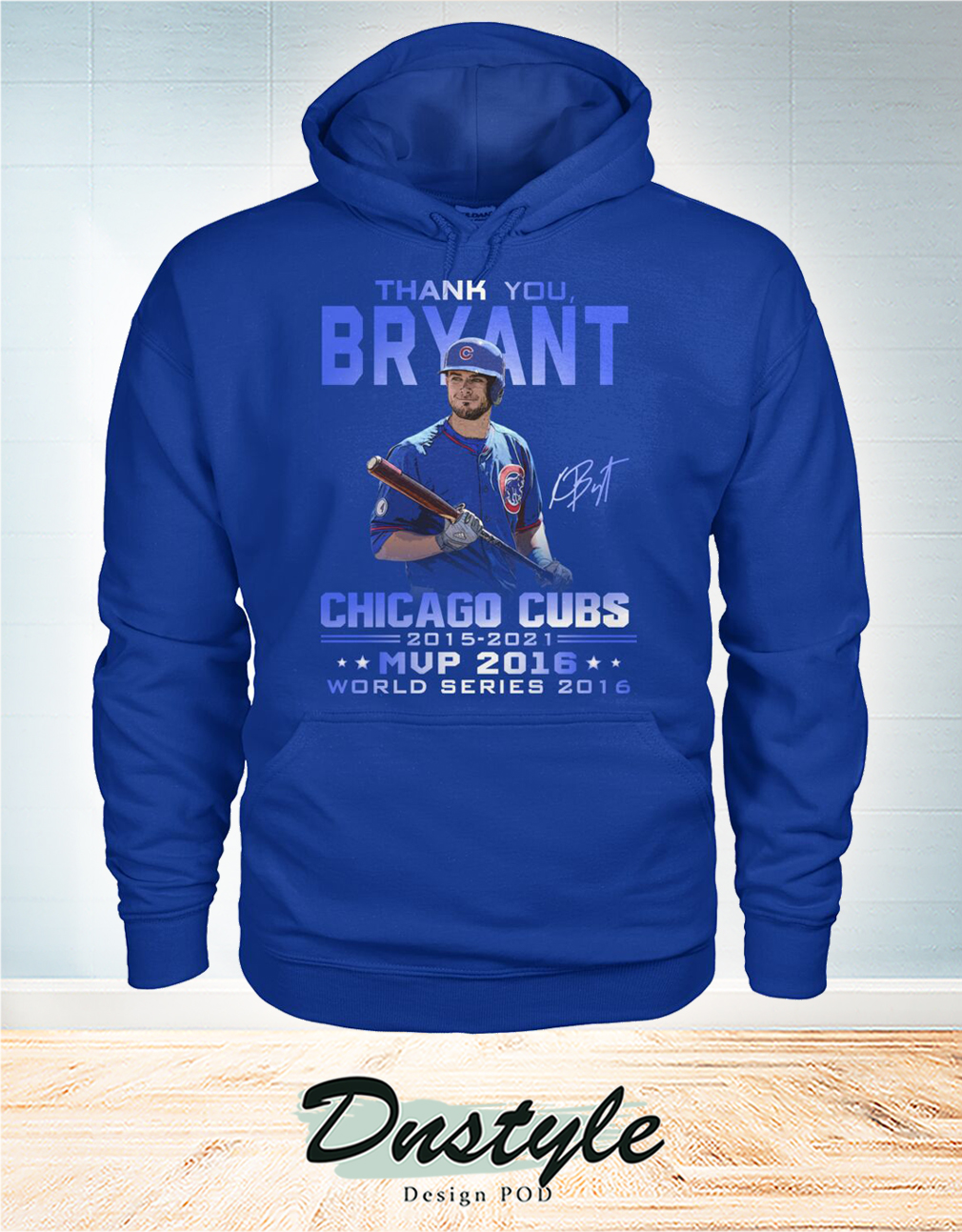 Thank you Bryant signature chicago cubs mvp 2016 hoodie