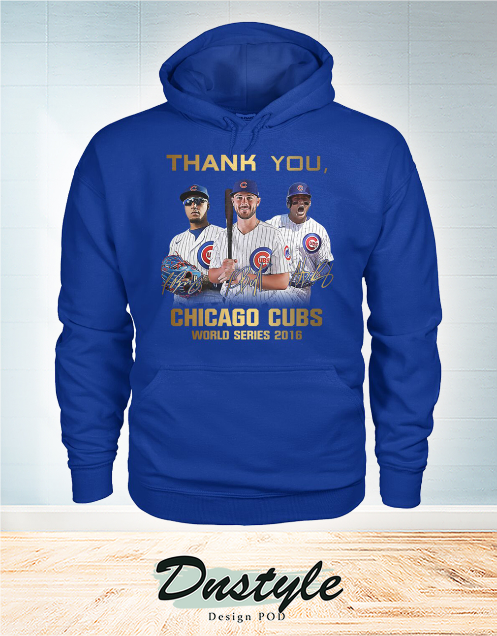 Thank you Chicago cubs world series 2016 hoodie