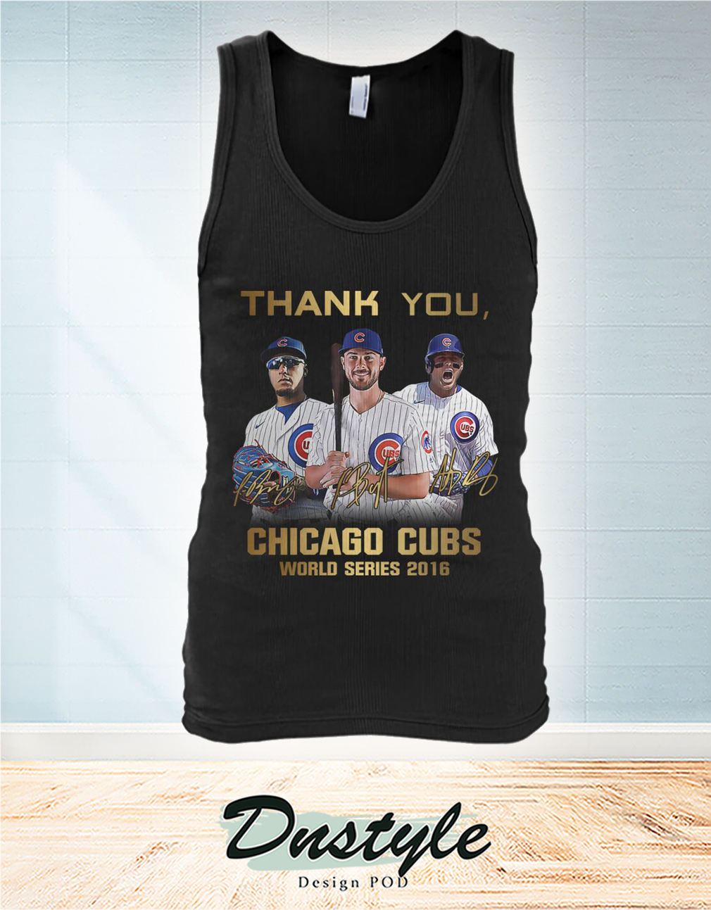 Thank you Chicago cubs world series 2016 tank